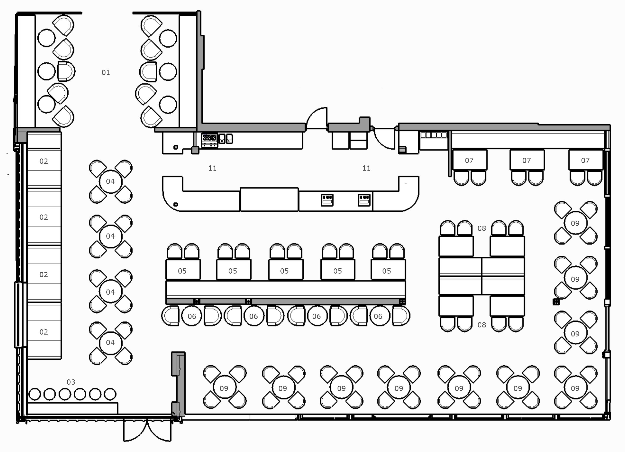 restaurant design - catering design